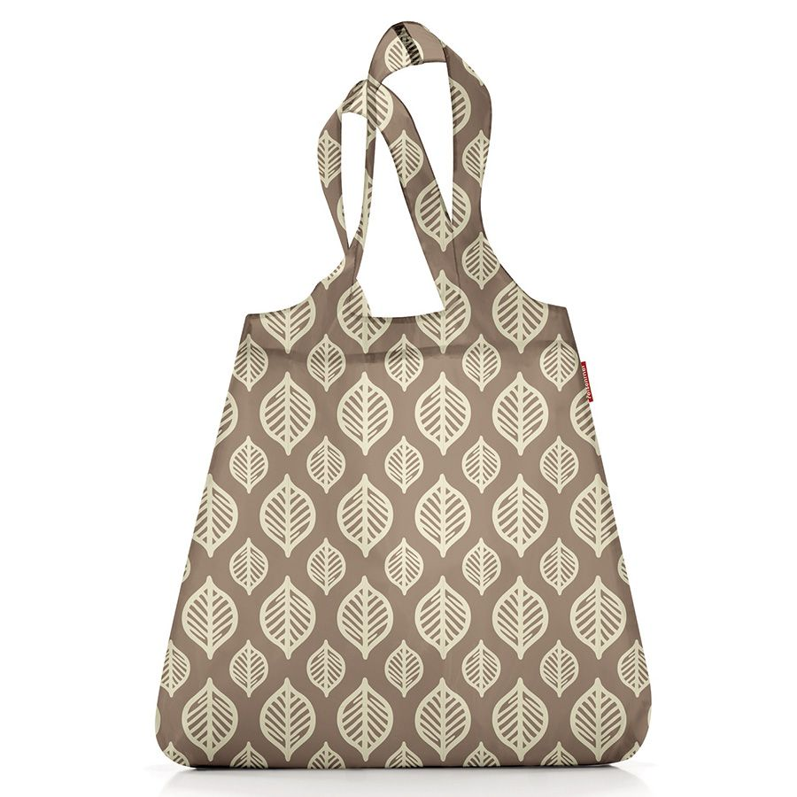 Сумка складная mini maxi shopper mocha leaves